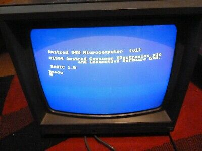 Tested Amstrad CTM 644 Monitor VDU • 57.88£