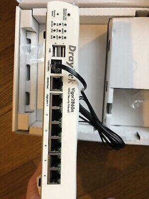 DrayTek Vigor 2860 Router VDSL2+ Security Firewall • 70£
