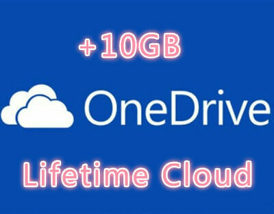 OneDrive +10GB Referral Bonus Permanent Space Lifetime Space • 3£