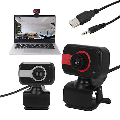 With Microphone HD Webcam Web Full Cam Camera For Computer Laptop PC Desktop • 8.79£