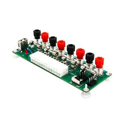 20/24 Pins ATX Benchtop PC Power Breakout Module Adapter With USB 5V Port Tt • 7.75£