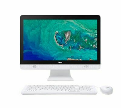 ACER Aspire C20-830 19.5  All-in-One PC Intel Celeron 1TB HDD White - Currys • 279£