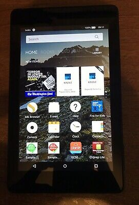 Amazon Kindle Fire 5th Generation  7inch - Excellent Condition With Blue Cover • 11.70£