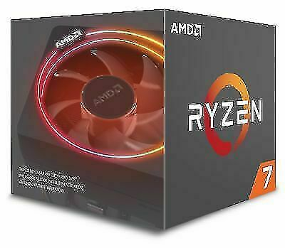 AMD Ryzen 7 2700X YD270XBGAFBOX 3.7 GHz 8-Core AM4 Processor • 122£