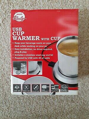 USB Warmer And Cup Brand New Boxed By Dream Cheeky  • 3.80£