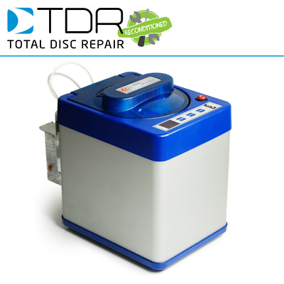 A+ Refurbed TDR Eco Pro 2 Disc Repair Machine - Fix CDs, DVDs, Xbox, PS3 • 1,014£