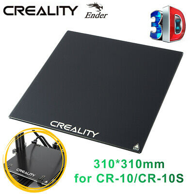 Creality 3mm Ultrabase Heat Bed Glass Plate 310x310mm For CR10/10S 3D Printer • 17.39£