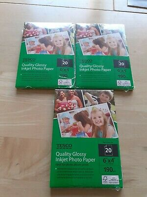 Quality Glossy Inkjet Photo Paper - 6' X 4' • 6.99£