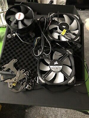 Selection Of 3 PC Fans  • 10£