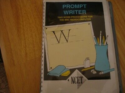 Bbc Software - Prompt Writer On 5.25  Disks • 15£