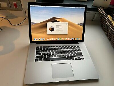 Apple MacBook Pro With Retina Display 15.4  Laptop - (Mid 2015, Silver) • 599£