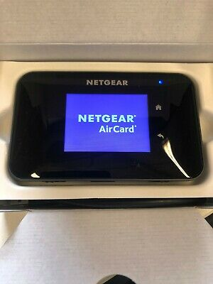 NETGEAR Aircard 810S (UNLOCKED)  Wi-Fi Mobile TOUCHSCREEN -4G- BOXED!! • 134.99£