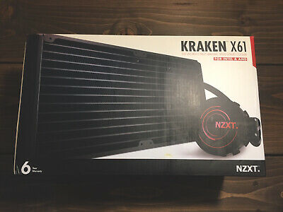 NZXT Kraken X61 Water Cooler - With CAM Controls • 64.99£