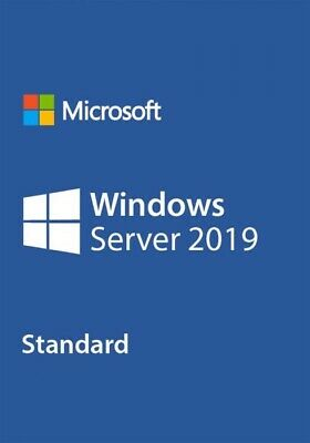 Windows Server 2019 Standard Licence Keys • 45£