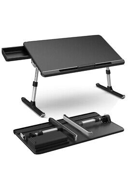 Klearlook Laptop Desk With Storage Drawer,Foldable Legs Brand New • 48.99£