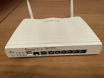 Draytek 2860n Wireless Router - Firewall - WiFi - VDSL/ASDL - Modem • 60£