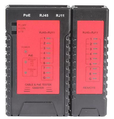 Tenma - 72-2950 - Network Cable Tester With Poe • 21.19£