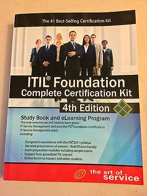 Itil Foundation Complete Certification Kit - Fourth Edition: Study Guide Book A… • 60£