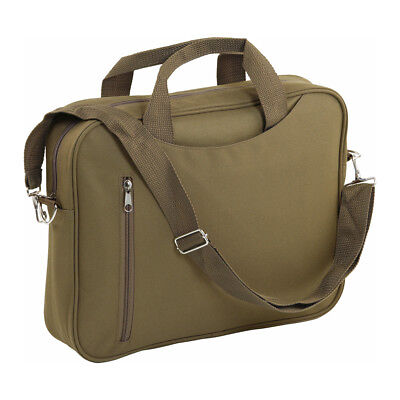 14  Padded Laptop Bag Notebook Macbook Computer Carry Case Shoulder Khaki Unisex • 5.99£