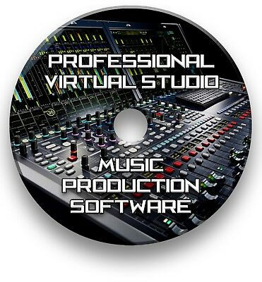 Multi-track Music Editing, Mixing, Recording Virtual Studio Production Software • 4.99£