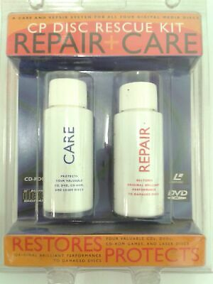 Cp Disc Rescue Kit Repair & Care System For All Digital Media Discs / Brand New • 18.75£