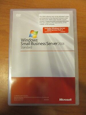 Windows Small Business Server 2008 - Standard SP2 + 5 Client Access Licenses • 59.99£