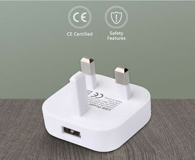 Mains Charger USB Plug / Charging Data Cable For IPhone 6,7,5,iPad,Air,Mini ETC • 4.49£