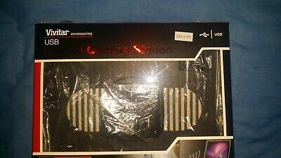 Laptop Cooling Stand Black BRAND NEW • 10£