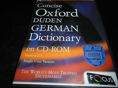Concise Oxford-Hatchette German  Dictionary   Pc Cdrom • 1.74£