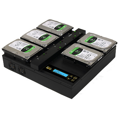 EZ Dupe Hard Drive Duplicator Open Platform Sanitizer Cloner Copier • 1,388.06£