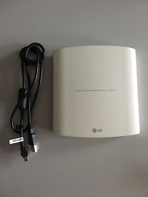 LG External USB DVD Drive With Cables • 20£