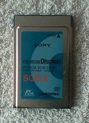 Sony 975300 CD-ROM Discman PCMCIA SCSI II PC No Dongle • 24.95£