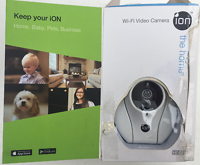 ION The Home Business Wi-Fi Security Video Camera 720p White OPEN • 39.95£