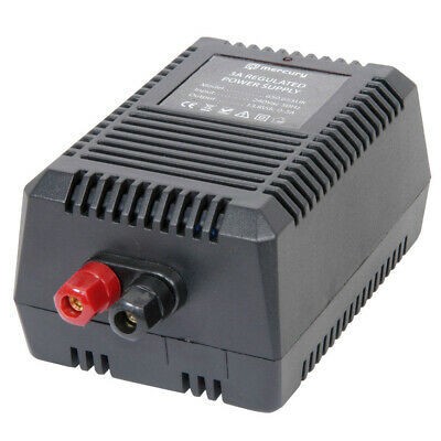 3A Mercury 650.655 Switch Mode 13.8V Bench Top Power Supply 1.6m Power Lead • 18.95£