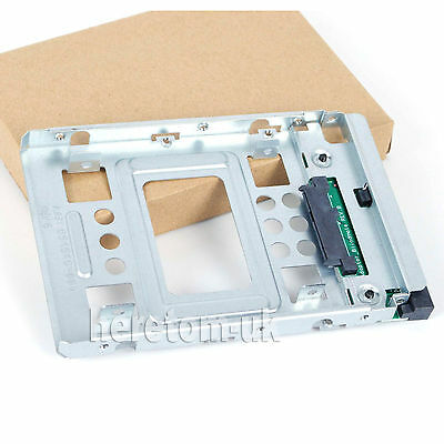 2.5  SSD To 3.5  SATA Hard Disk Drive HDD Adapter CADDY TRAY CAGE Hot Swap New • 9.90£