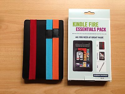 Kindle Fire Essentials Pack - BRAND NEW IN BOX • 5.99£