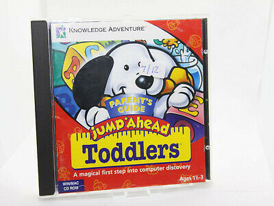 ✔️📀 Retro Jump Ahead Toddlers Pc Cdrom - Kids Software - Uk Seller • 2.79£