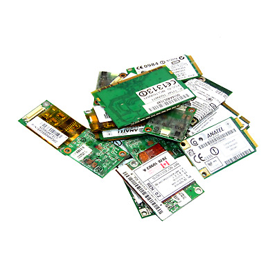 100 X Various Laptop Network Cards • 39.99£