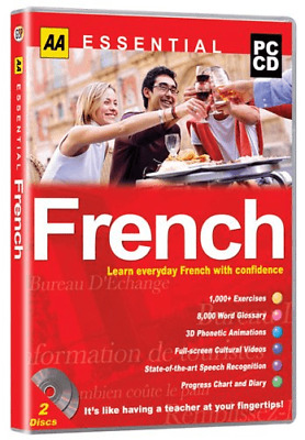AA Essential French PC CD ROM GAMES • 3.19£