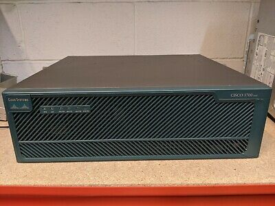 Cisco 3700 Series Router With Dual AC Power Supply & 3745-IO-2FE Card • 50£