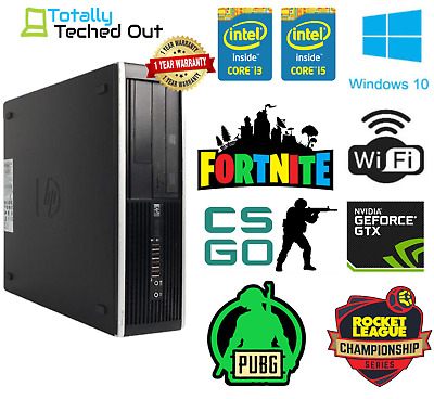 Cheap Gaming PC Dell Optiplex Quad I5 8GB Ram 1TB SSD Nvidia Geforce 1030 KIDS • 265.99£