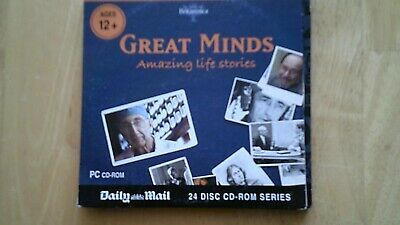 Great Minds Amazing Life Stories  Daily Mail PCCDROM • 1.69£