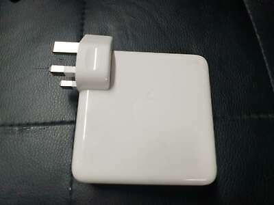 Genuine Pre-owned 61W Apple MacBook Pro 13  Adapter Charger Power Supply USB-C • 29.88£