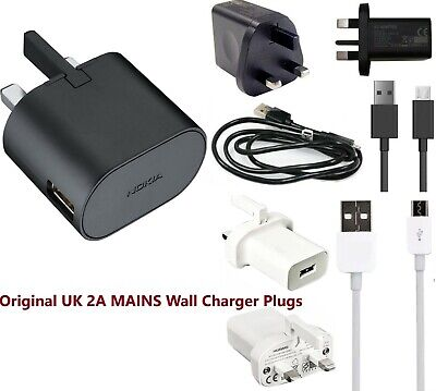 Original Nokia,Huawei,Lenovo 2A MAINS Wall Charger Plug For Tablets & Smartphone • 11.99£