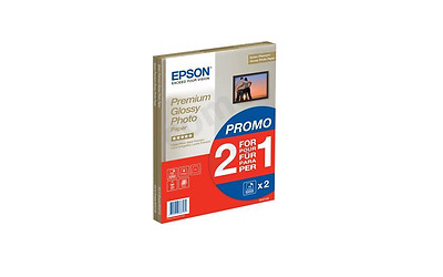 Epson (A4) Premium Glossy Photo Paper (2 X 15 Sheet Pack) S042169 • 13.60£