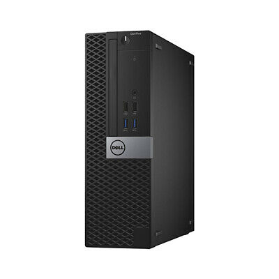 DELL Core I5 6th Gen SFF Desktop PC 16GB RAM 512GB SSD Fast Computer Win 10 WiFi • 269.99£