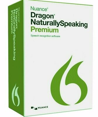 Nuance Dragon Naturally Speaking Premium 12 Full Download Version - On  DVD • 4£