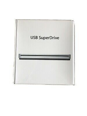 Apple USB SuperDrive DVD Re-Writer - Silver (MD564ZM/A) • 54.90£