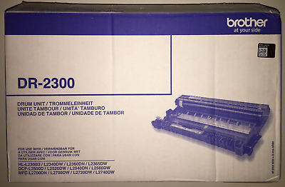 Genuine Brother DR-2300 Drum Unit  (Opened Sealed) VAT Invoice • 49.95£