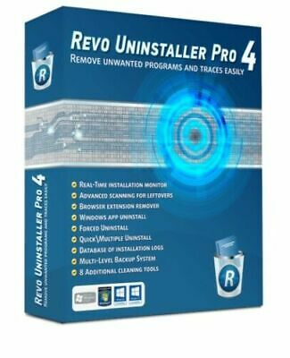 Revo Uninstaller Pro 4 For Windows ✅full Activated✅lifetime Activated • 3.35£